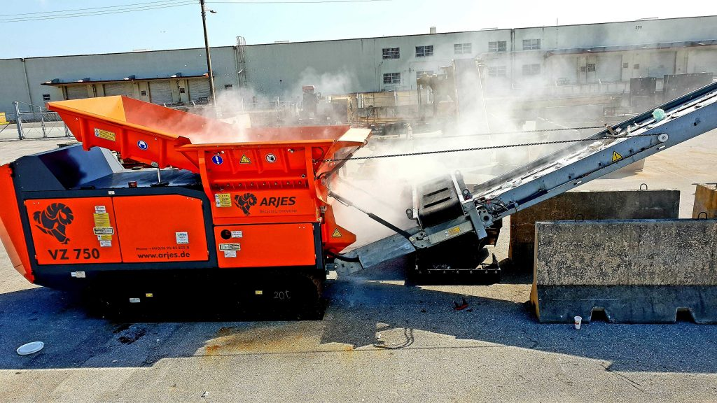 WBG finishes delivery of 5 ARJES Shredders to the ASIA
